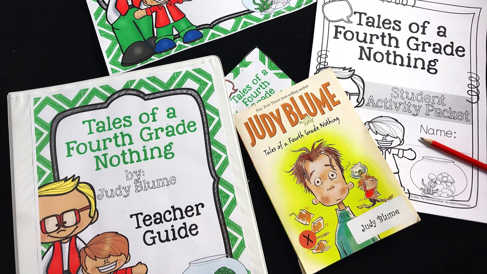 This complete novel unit for Tales of a Fourth Grade Nothing is great for upper elementary students!