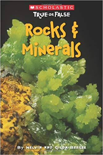 I love the layout and structure of this book! Throughout its pages, the book poses several statements about rocks and minerals that students guess to be true or false. Then the real answer is revealed along with an explanation and some awesome photos!