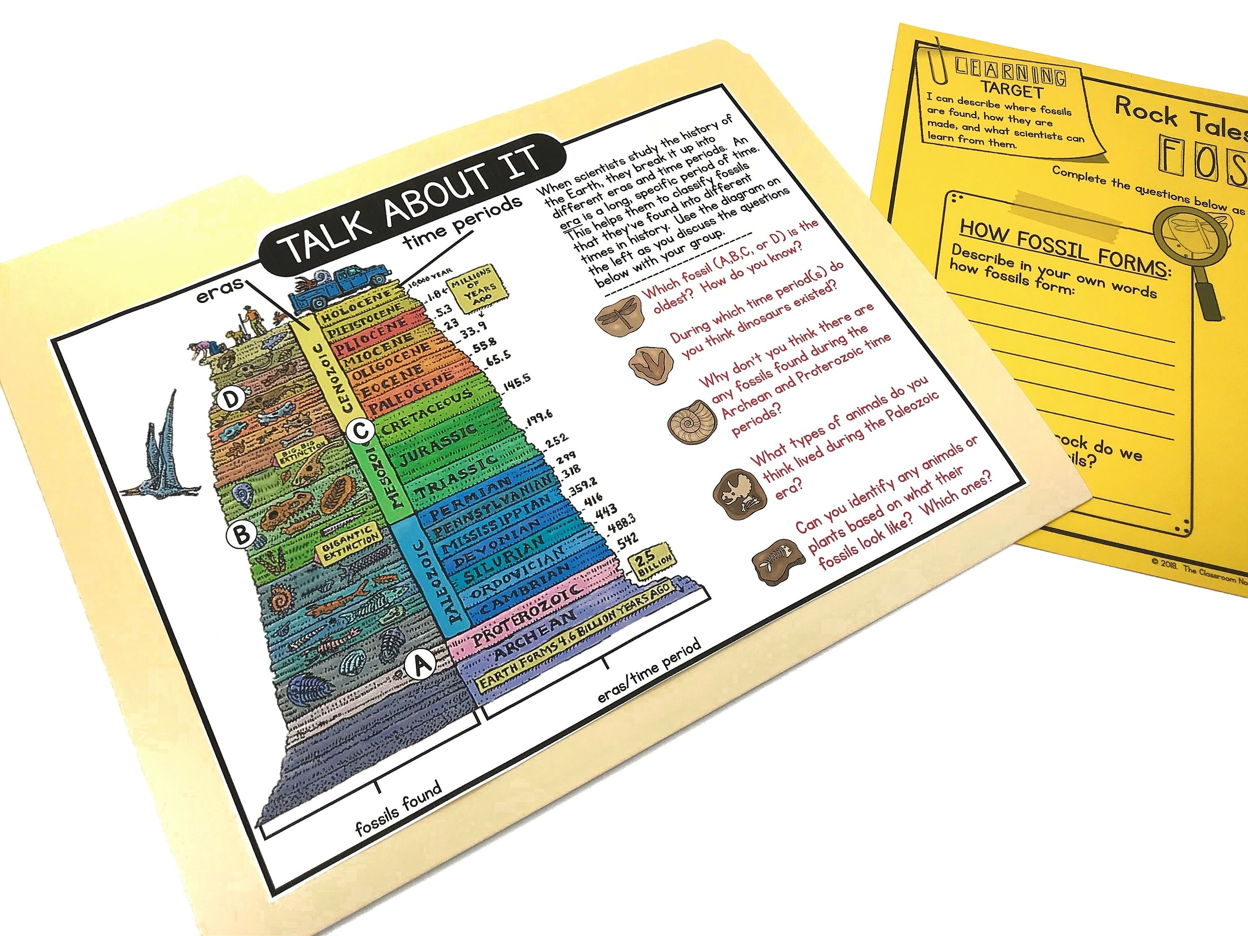 Fossil Discovery Folders
