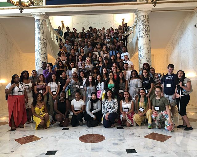 Spent the past week with 140 youth delegates from around the world at the second @intlcongressofyouthvoices in Puerto Rico. I'm grateful for my small role to help amplify their words and work in the world, and moved by their urgent commitment to action/solution-based change in the world, one another, and themselves. What a beautiful, historic time to be in Puerto Rico. #ICYV