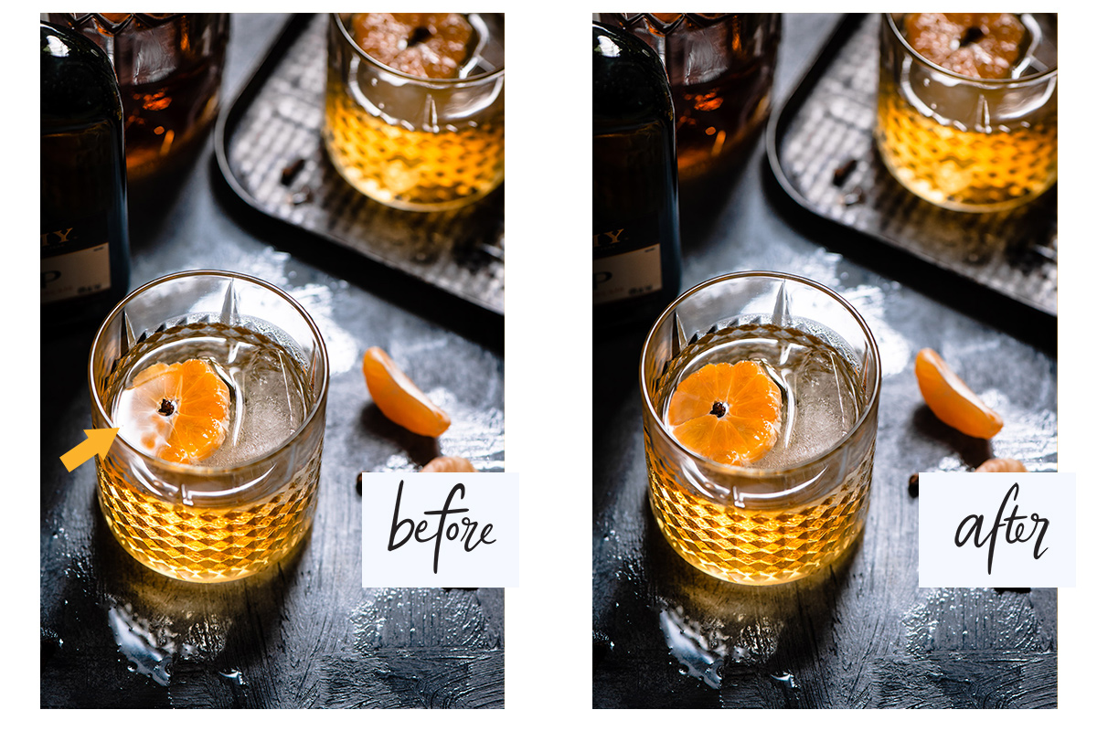 Retouching Food Photography Removing Reflections.jpg
