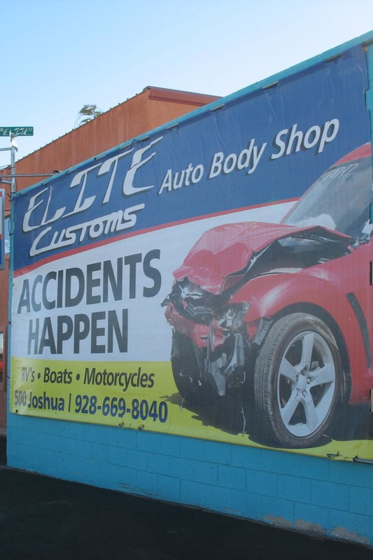 Accidents happen, but Elite will get you back on the road