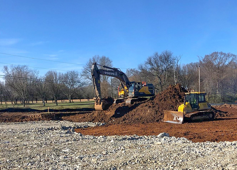 Construction Site | Dow Smith Company | Smyrna, Tennessee