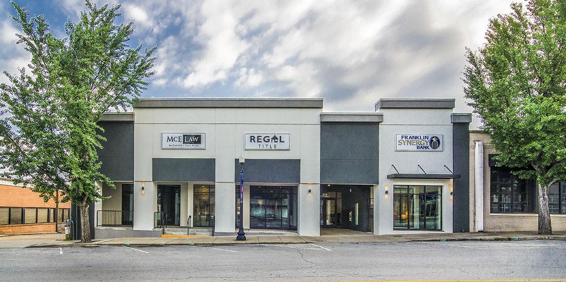 Franklin Synergy Bank | Dow Smith Company | Smyrna, Tennessee
