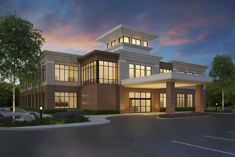 Murfreesboro Medical Clinic Rendering | Dow Smith Company | Smyrna, Tennessee