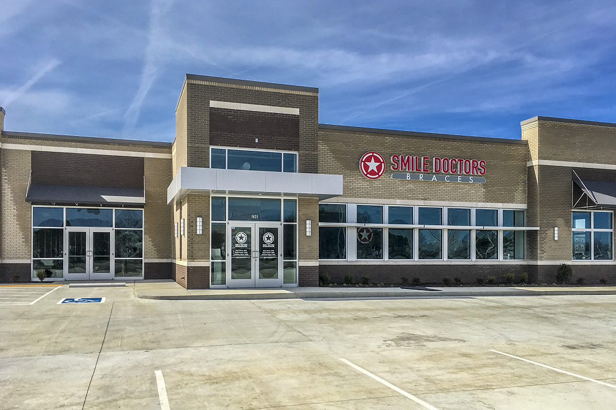 The new Smile Doctors is located in Smyrna Commons.