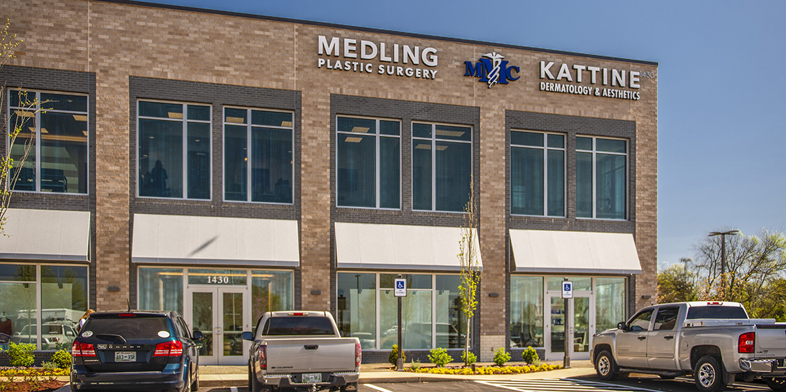 Board-certified dermatologist Dr. Albert Kattine and board-certified plastic surgeon Dr. Brad Medling now provide a high level of service and amenities to patients throughout Middle Tennessee.