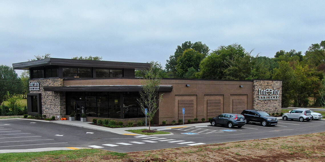 The new Integrity Eye Care is located at 4144 Franklin Road (Highway 96) in Murfreesboro, Tennessee.