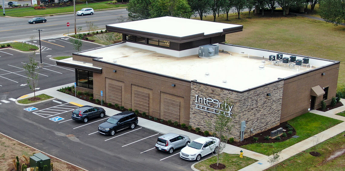 The new Integrity Eye Care on Highway 96 in Murfreesboro, Tennessee.