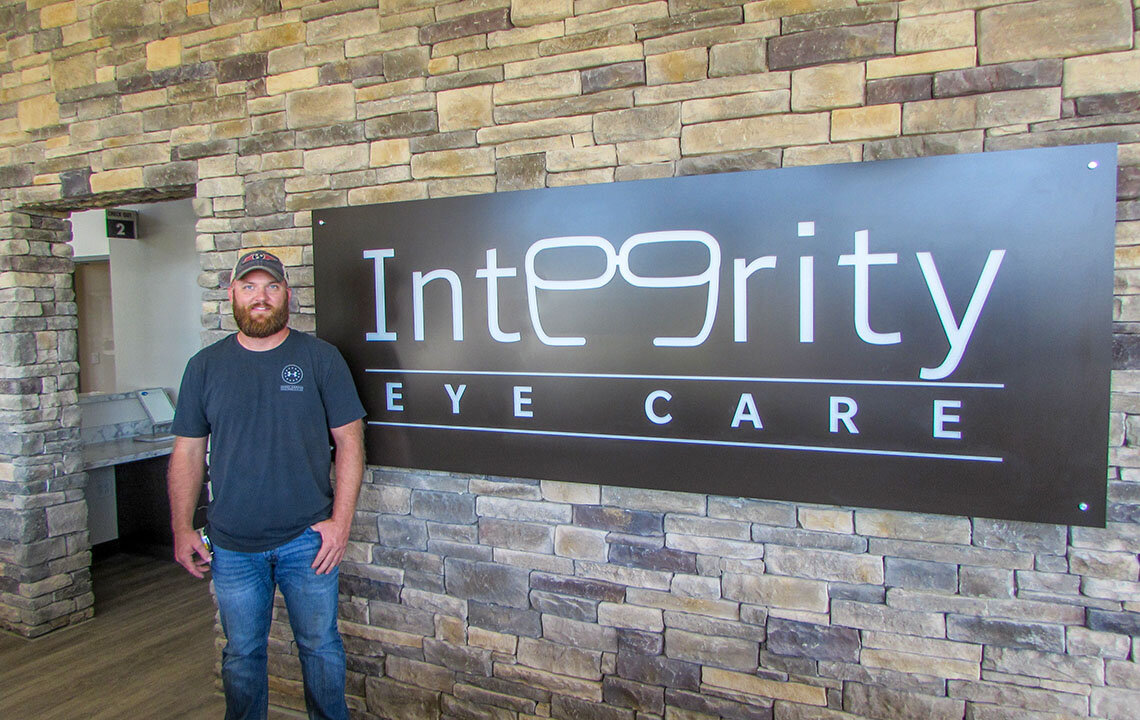 Project Superintendent Zac Neely helped guide the Garretts through the construction process.  Read more about Zac's experience on this project here.