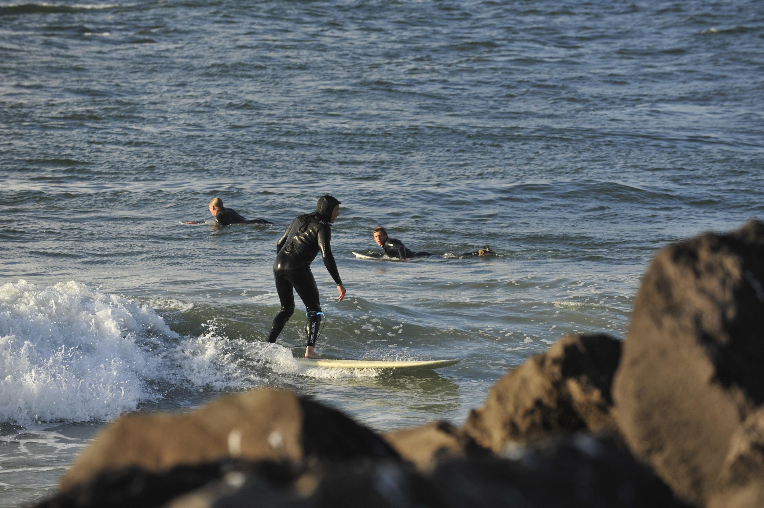 Surfing Westport
