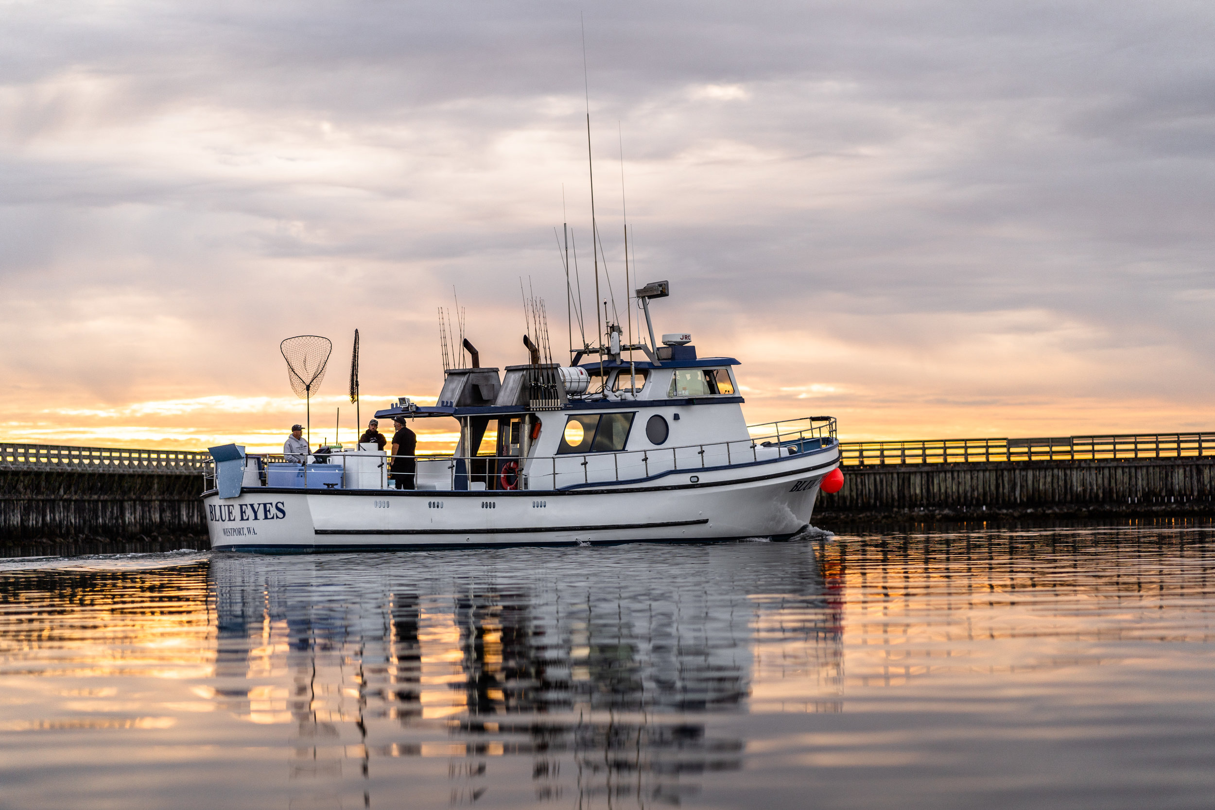 #7 Charter Fishing - Catch a big one! We have daily charters offering trips for: Halibut, Tuna, Salmon, Lingcod, and Crab.