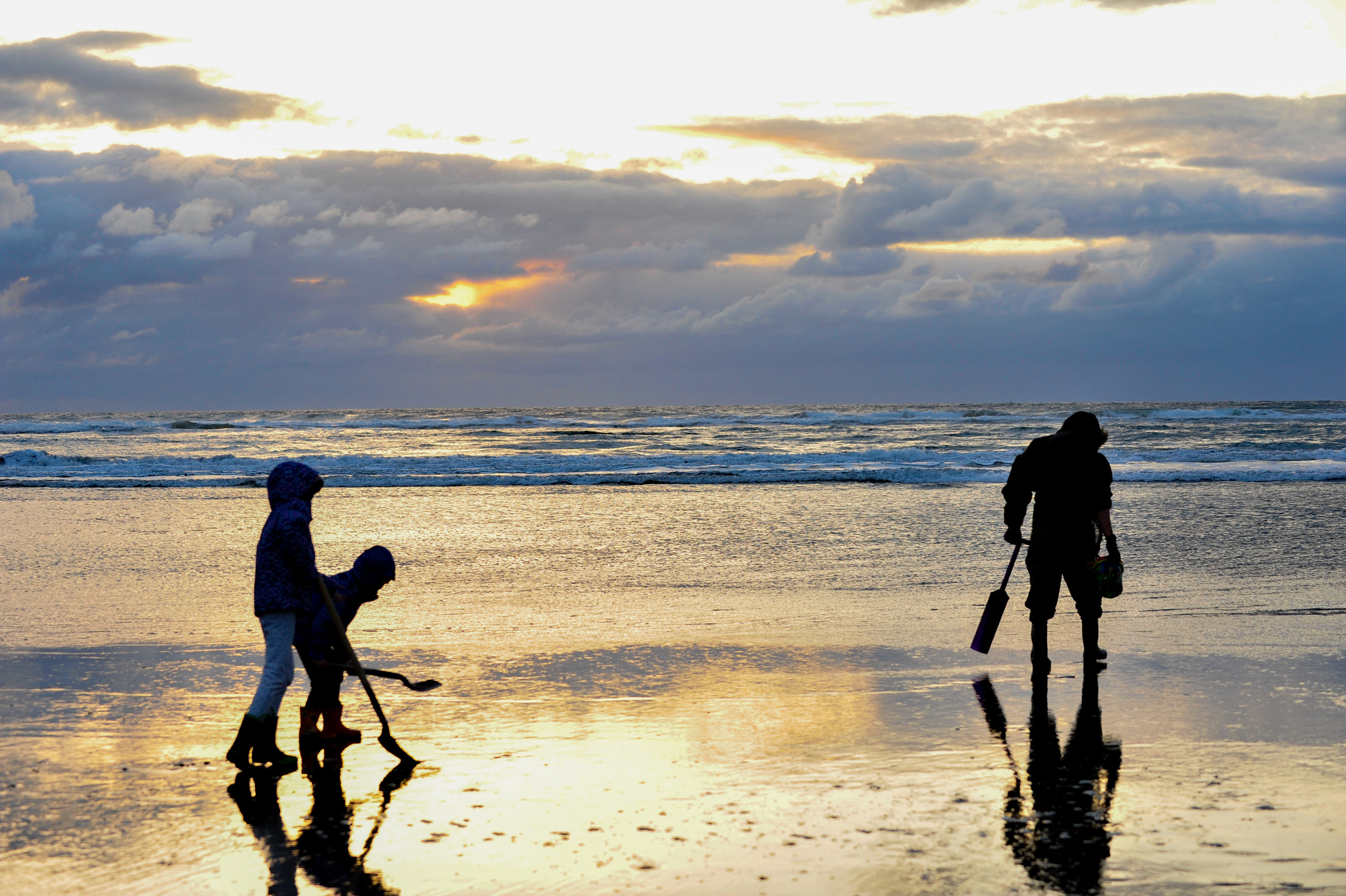 #11 Razor Clamming - If you haven't been clamming yet, You're missing out. Bonus points for making homemade clam chowder!