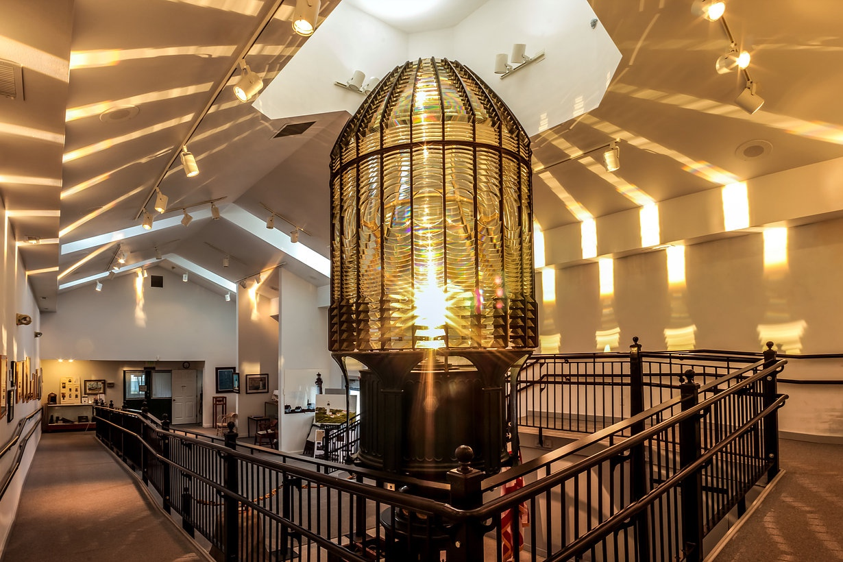 #10 Maritime Museum - Learn about maritime history and see the Destruction Island lighthouse lens!