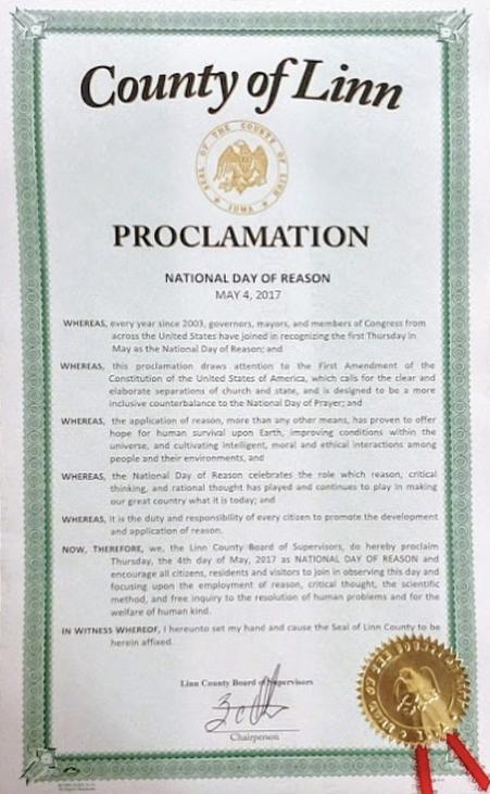 NDOR 2017 Linn County Proclamation.jpg