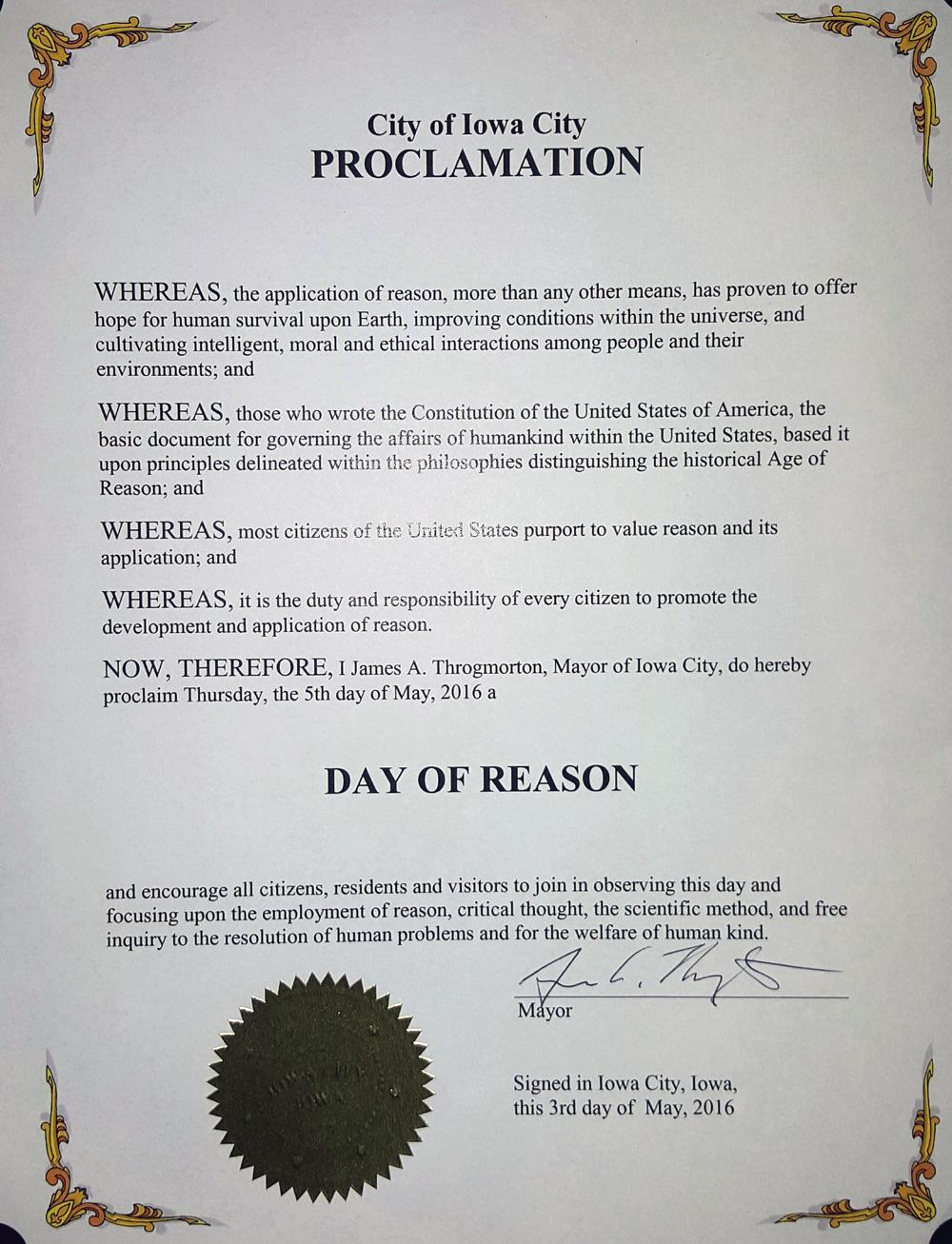 NDOR 2016 Iowa City Proclamation.jpg
