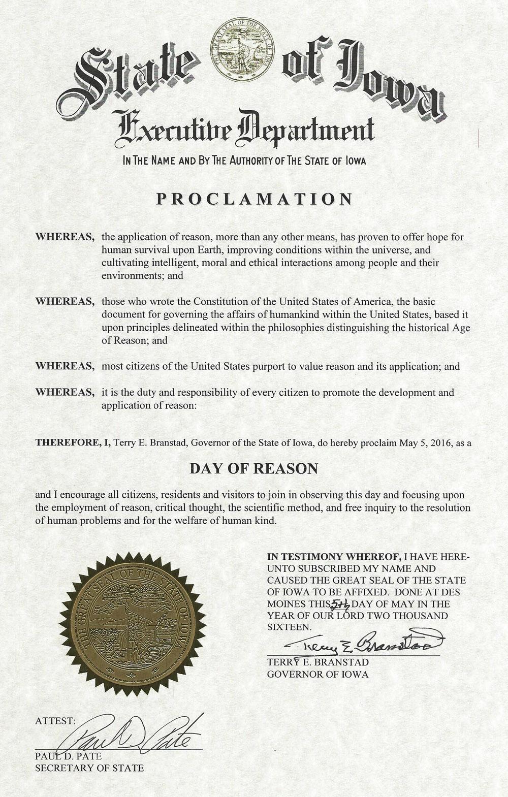 NDOR 2016 Iowa Proclamation.jpg