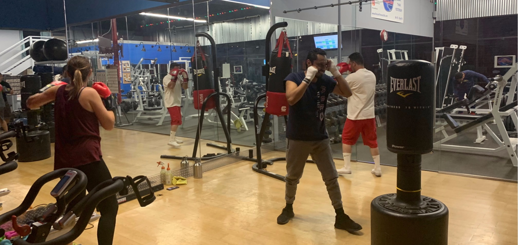 Try Cardio Boxing -