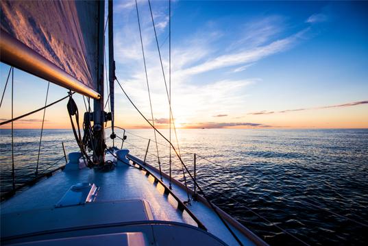 Sunset Sail -