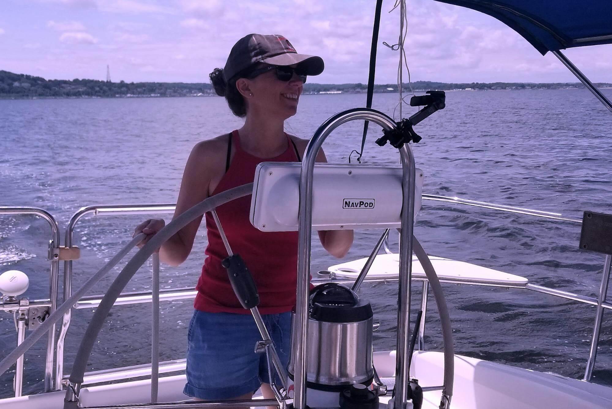 Woman At The Wheel of Sailboat.jpg