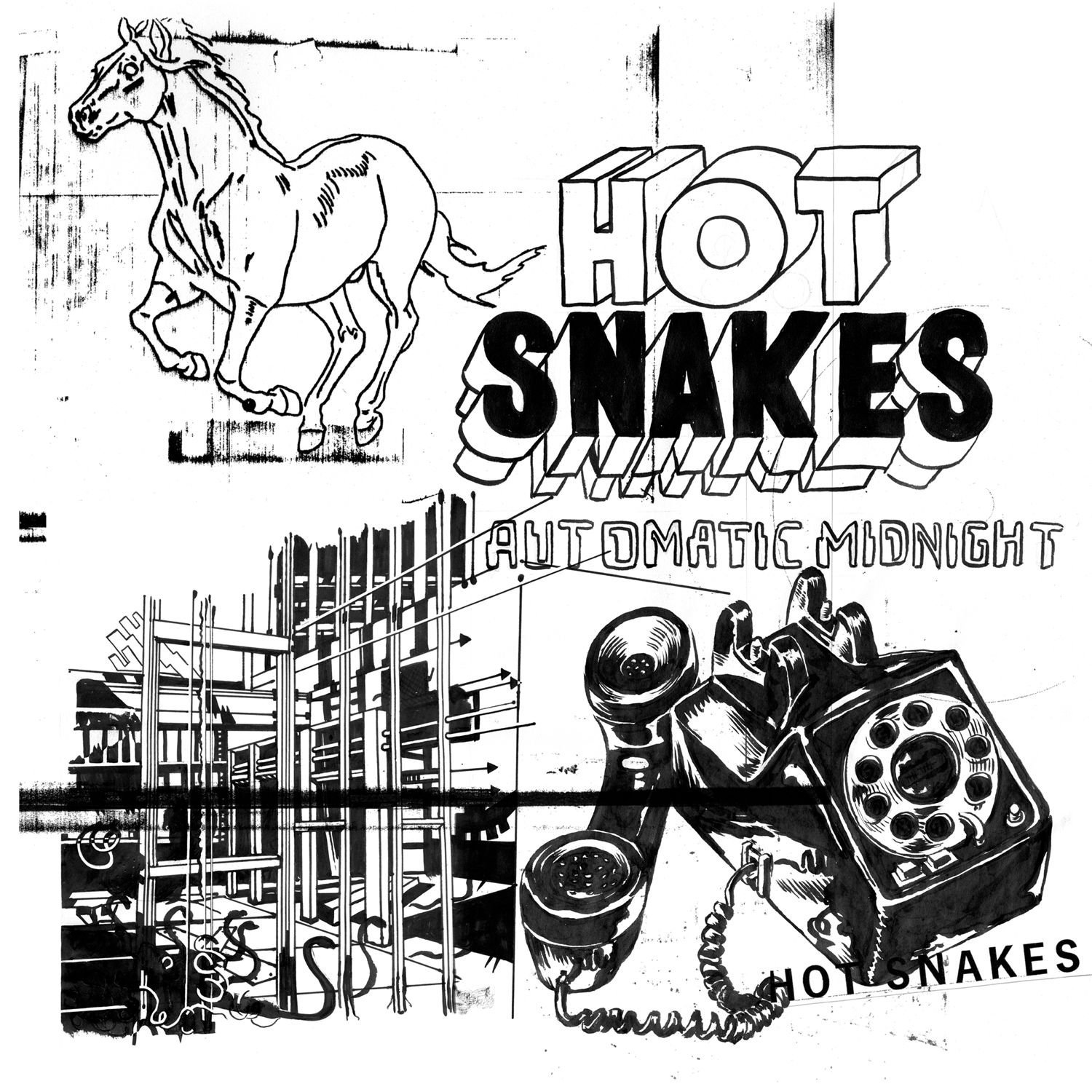 Hot Snakes, Automatic Midnight (remaster), Sup Pop _ Swami Records.jpg
