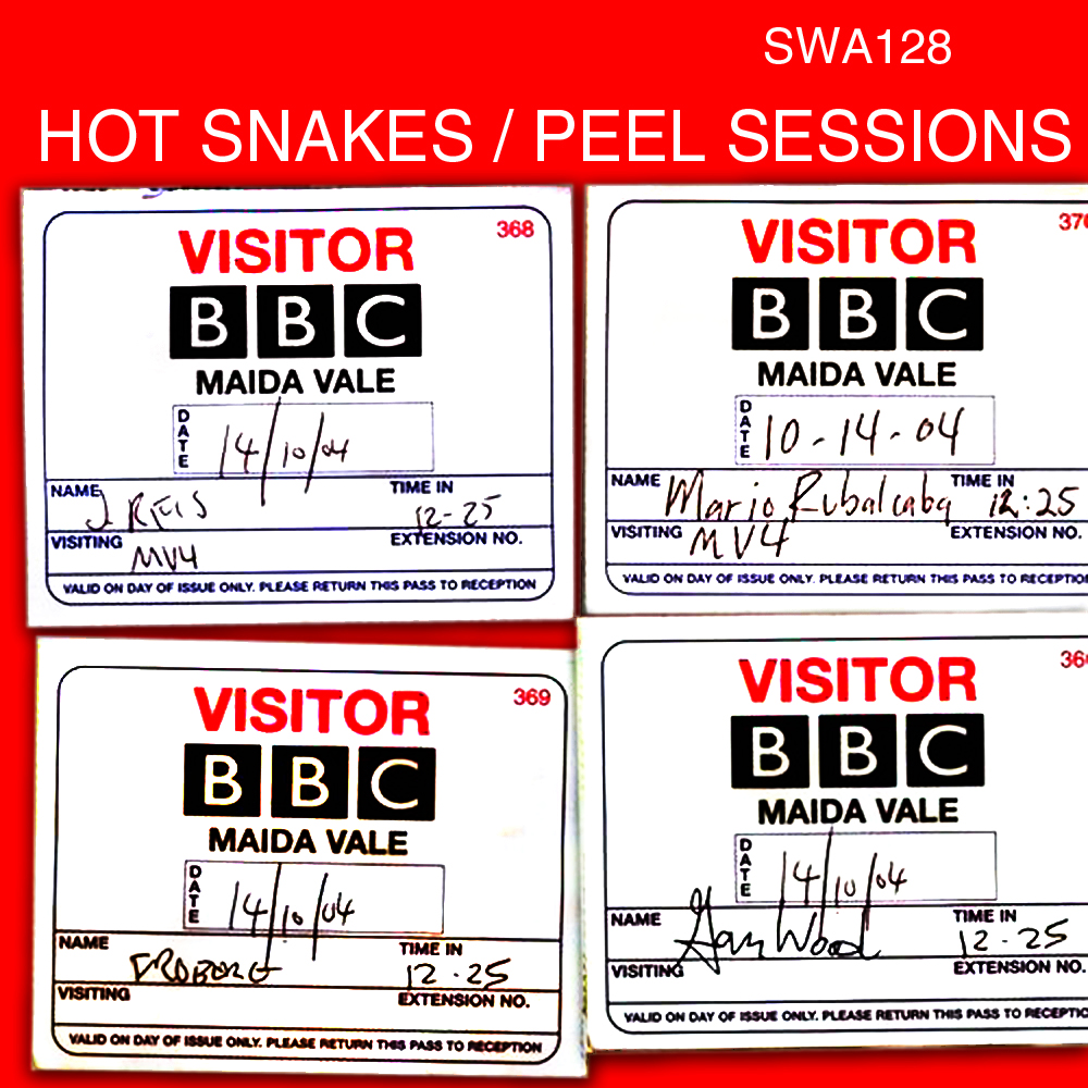 Hot Snakes, Peel Sessions, Swami Records.jpg