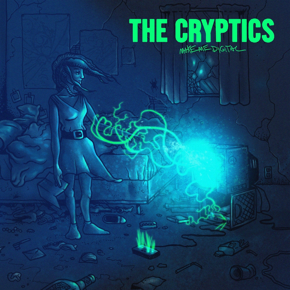 The Cryptics, Make Me Digital, Pine Hill Records.jpg