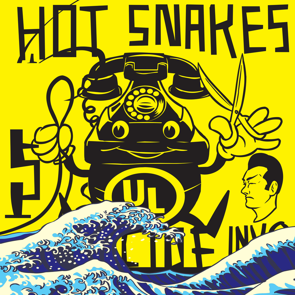 Hot Snakes - Suicide Invoice   Dave Gardner   SubPop, Swami