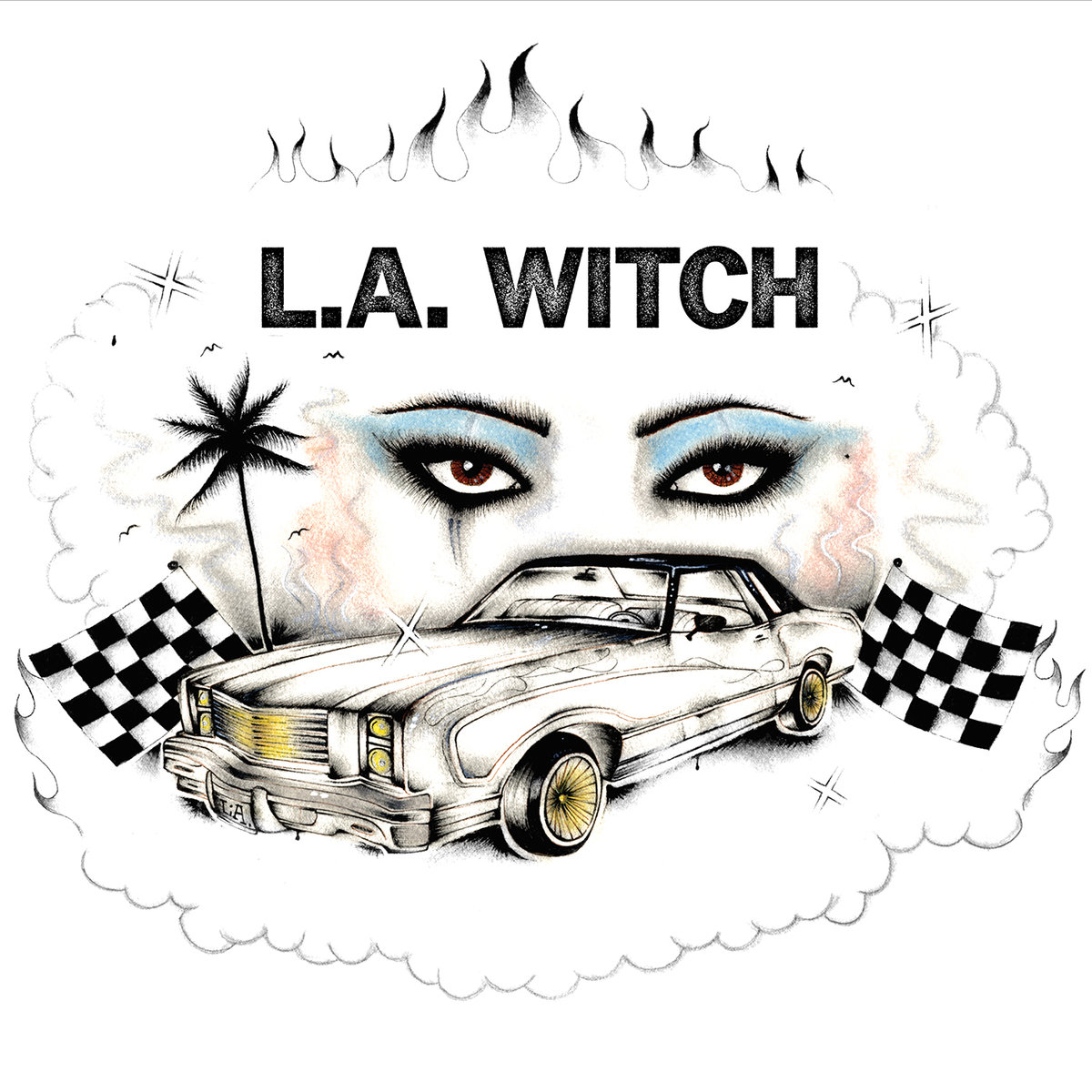 L.A. Witch - L.A. Witch   Dave Gardner   Suicide Squeeze Records