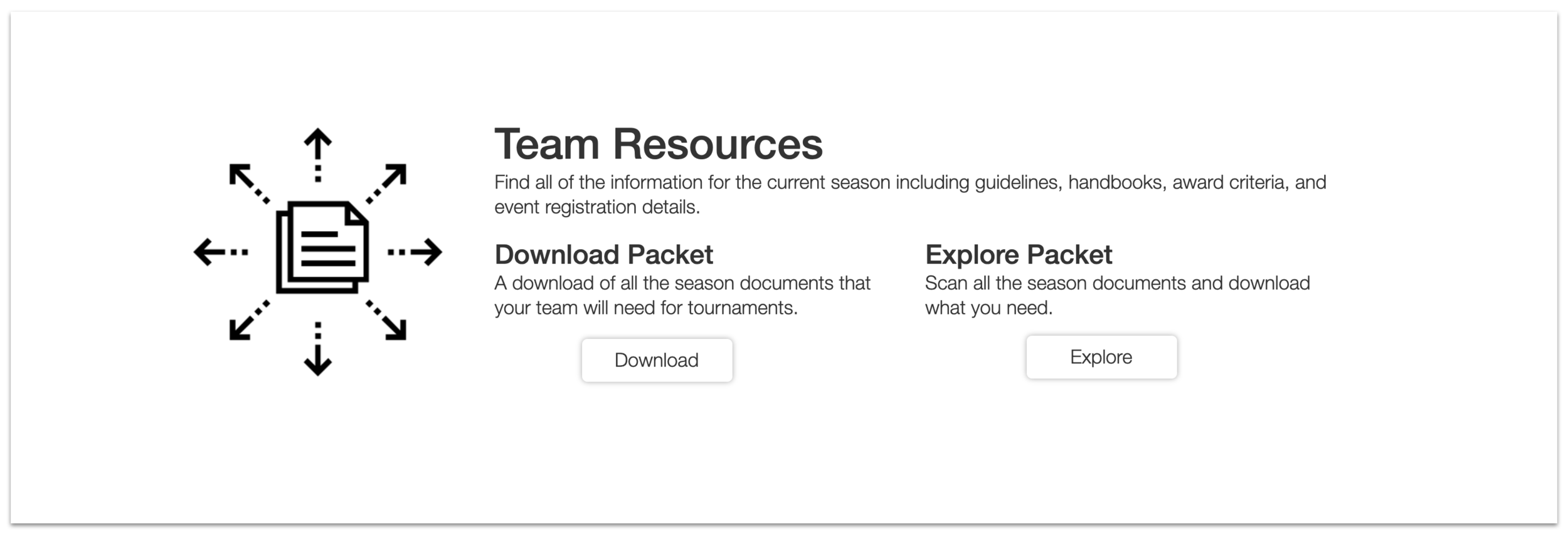 Team Resources Feature