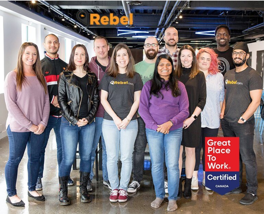 PR:    Rebel.com is Officially a Great Place to Work