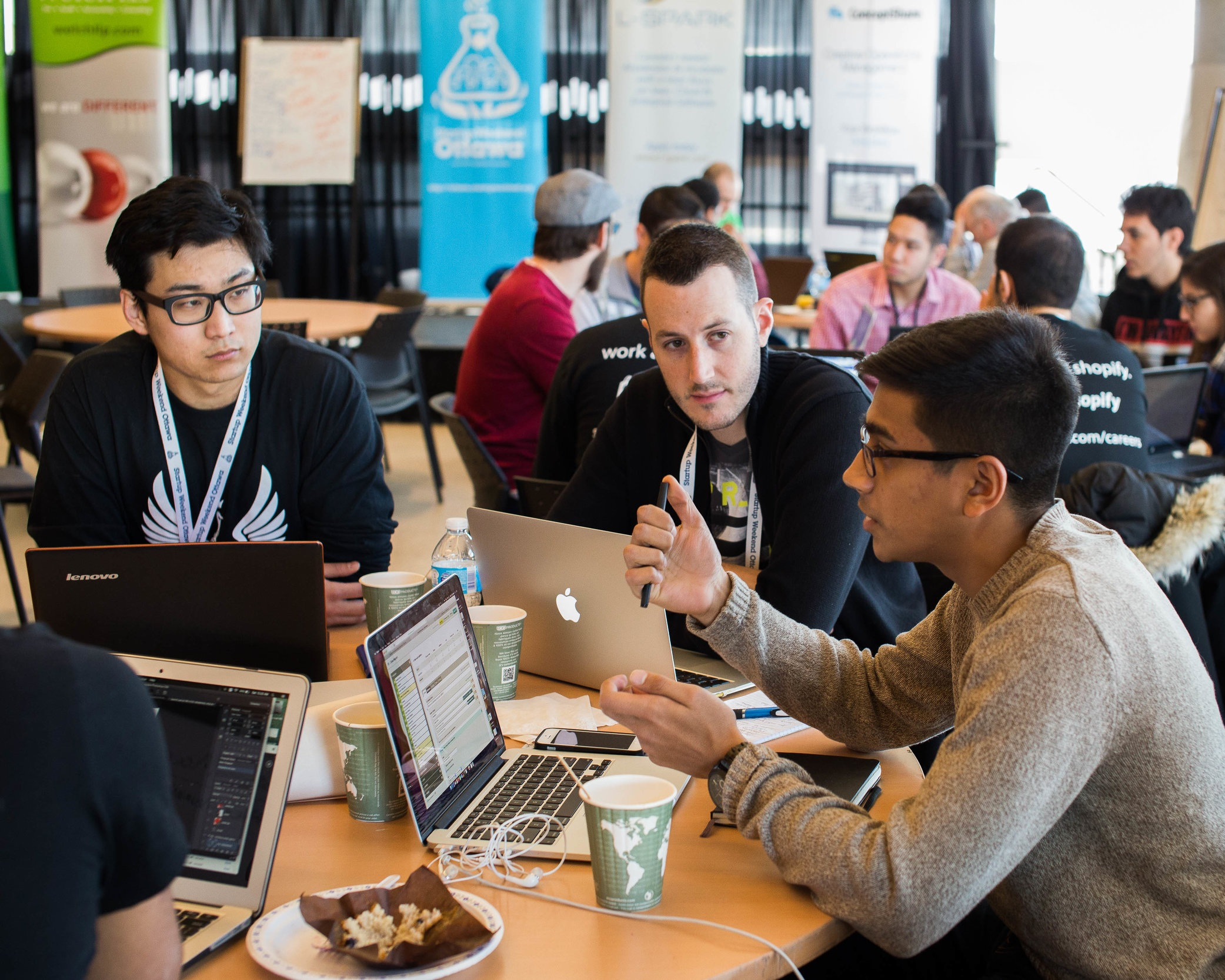Email:    Free meals do exist    (Startup Weekend Ottawa Promo)