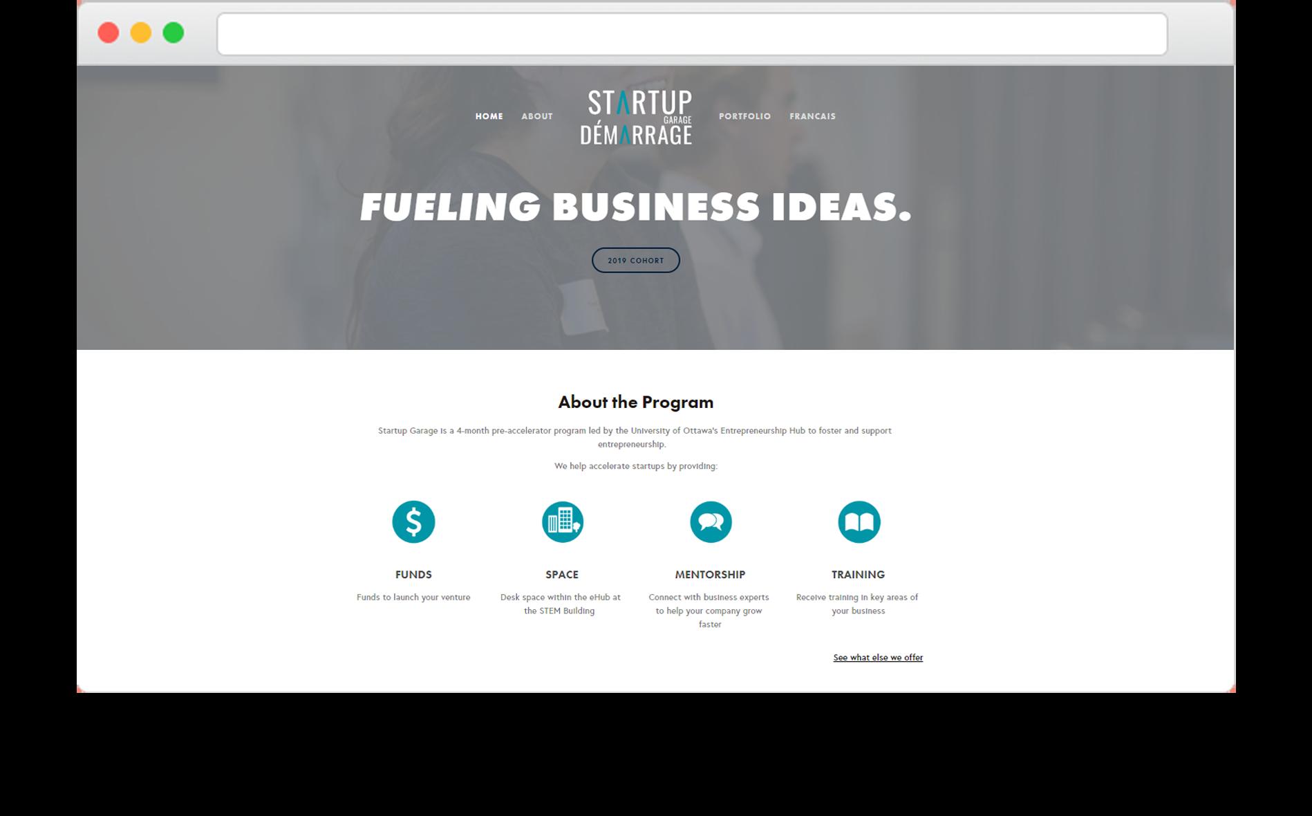 Startup Garage Site.png