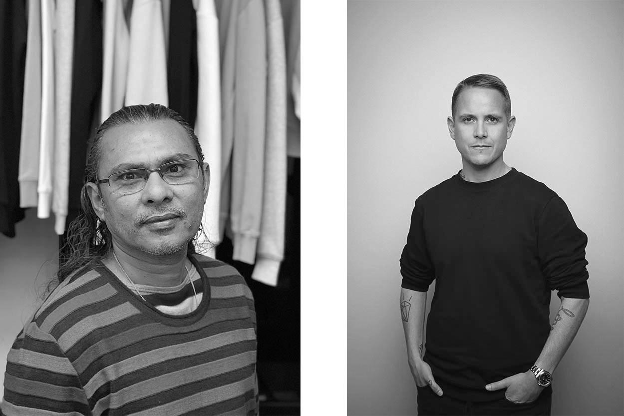 Shafiq Hassan, Founder  (left) , and Ben Matthews, Creative Director  (right)