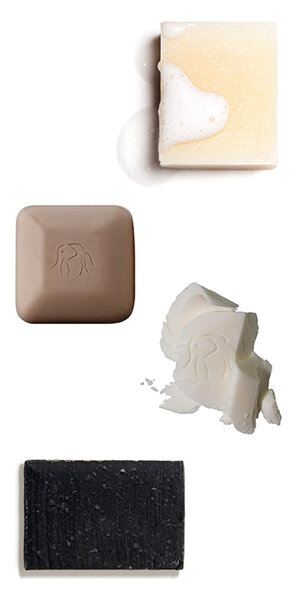 4. SWITCH TO PLASTIC & WASTE FREE WITH THESE SOAP AND SHAMPOO BARS - SHAMPOO BARS: BY HUMAN KIND'S INNOVATIVE ALL-NATURAL SHAMPOO BARS NOURISH YOUR SCALP AND THE PLANET, ELIMINATING SINGLE USE PLASTIC FROM YOUR HAIR CARE ROUTINE. vegan, gluten-free, sulfate-free, and always ethically-made.DRUNK ELEPHANT Baby Pekee Bar + Juju DUO FACE WASH BAR:The JuJu Bar is a multitasking exfoliating bar designed to effectively cleanse while gently removing dead skin cells from the surface of the skin. Uniquely formulated with thermal mud and bamboo powder.Pekee Bar is a gentle cleansing bar that moisturizes, clarifies, and balances the complexion. Infused with a blend of blueberry extract, marula oil, and honey, Pekee Bar tones and promotes moisture retention.Detoxifying Soap Bar: THIS Herbivore Botanicals BAMBOO CHARCOAL Deep Cleanse SOAP BAR WILL do wonders to deeply cleanse and detoxify. Bamboo Charcoal has been used for centuries in the East. The Japanese use it regularly for everything from filtering and purifying drinking water to brushing their teeth.