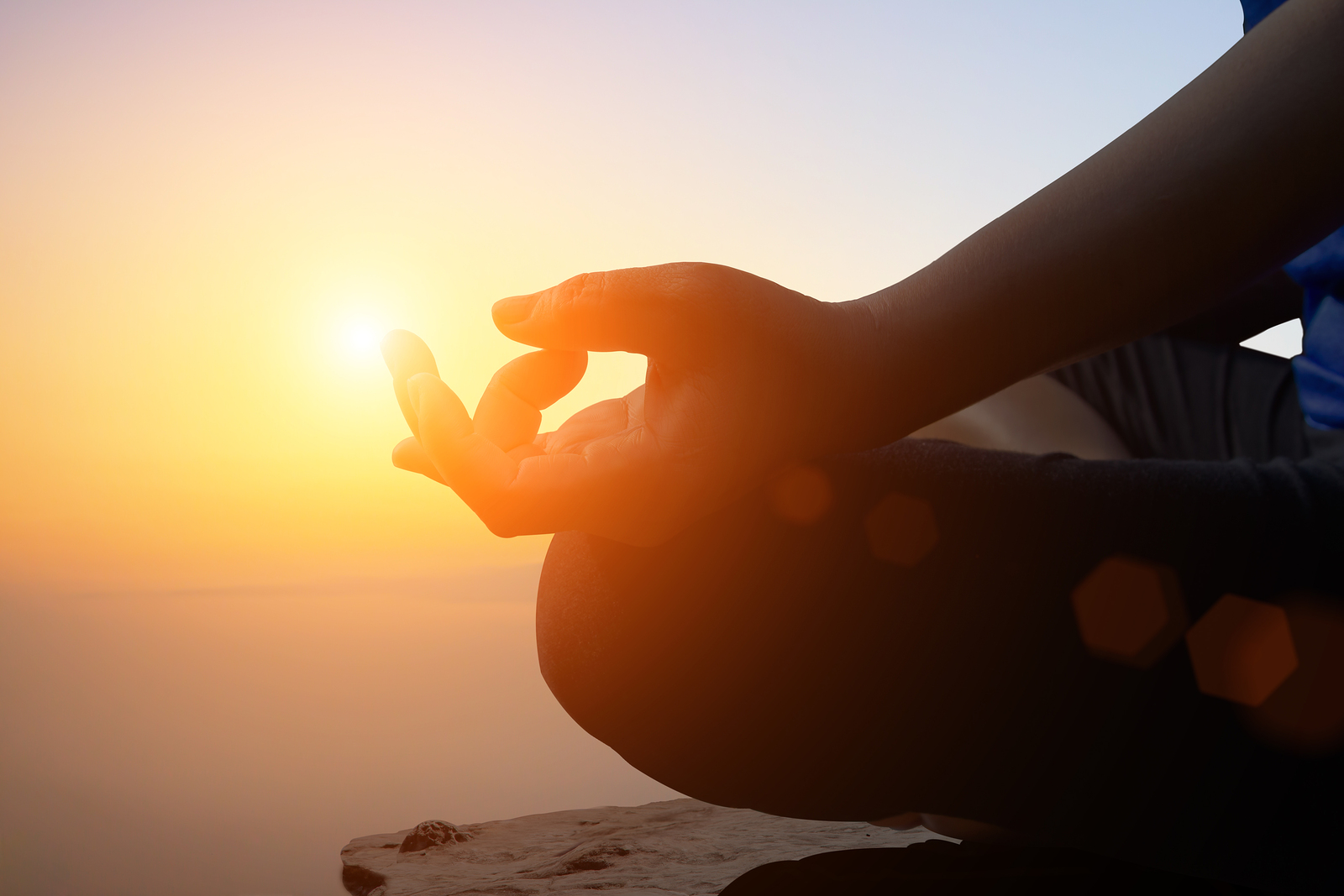 Image of a person practicing meditation | Acceptance and Commitment Therapy | Tulsa, OK 74114