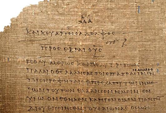 Hebrews - Bible Studies, Messages, Papers