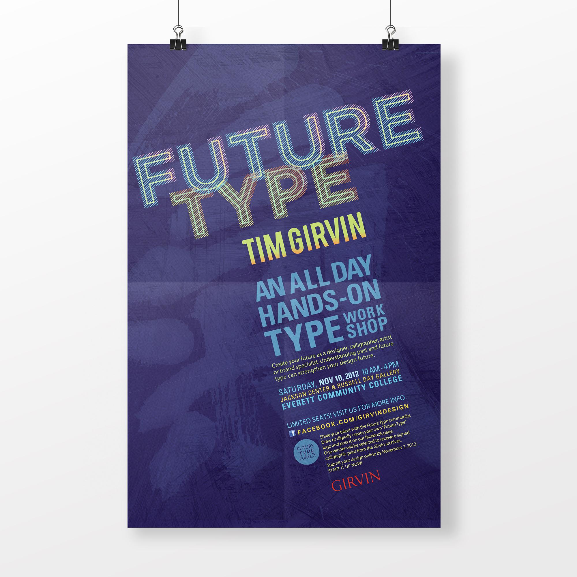 Tim Girvin's Future Type Poster