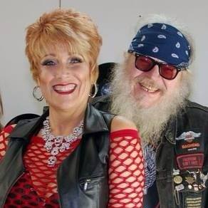 George and Kelly from Biker Radio Station