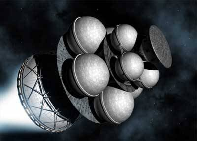 Daedalus Starship (Adrian Mann)