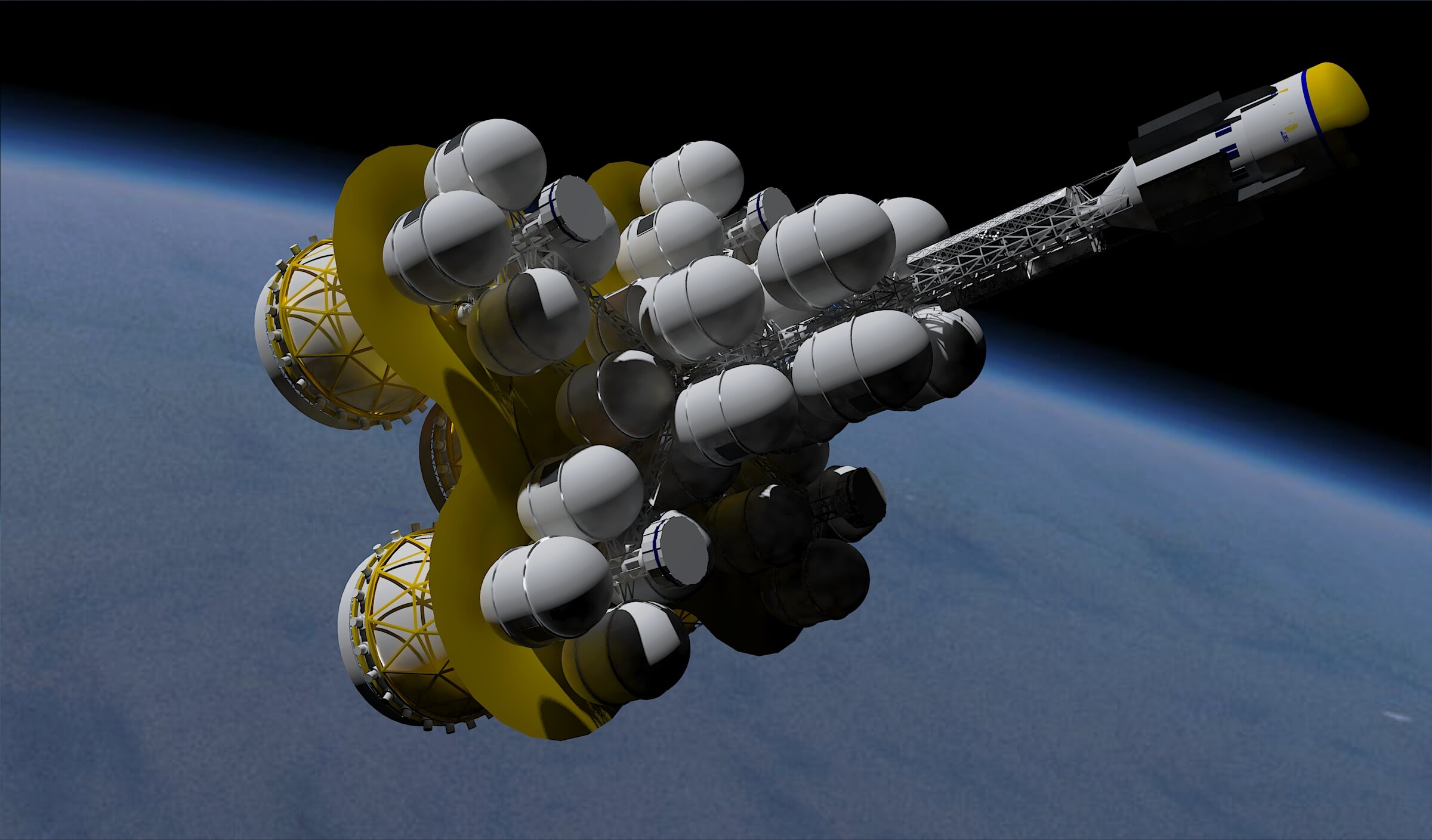 Project Icarus Starship Endeavour Concept Vehicle Design