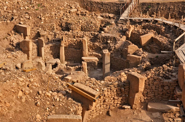 The archeological site at Gobekli Tepe in Turkey