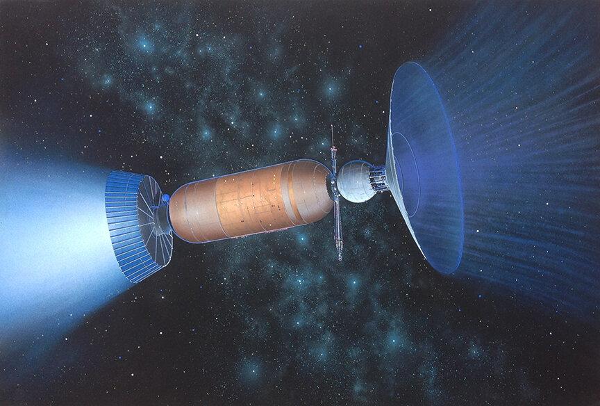 Interstellar Ramjet (Rick Sternbach)