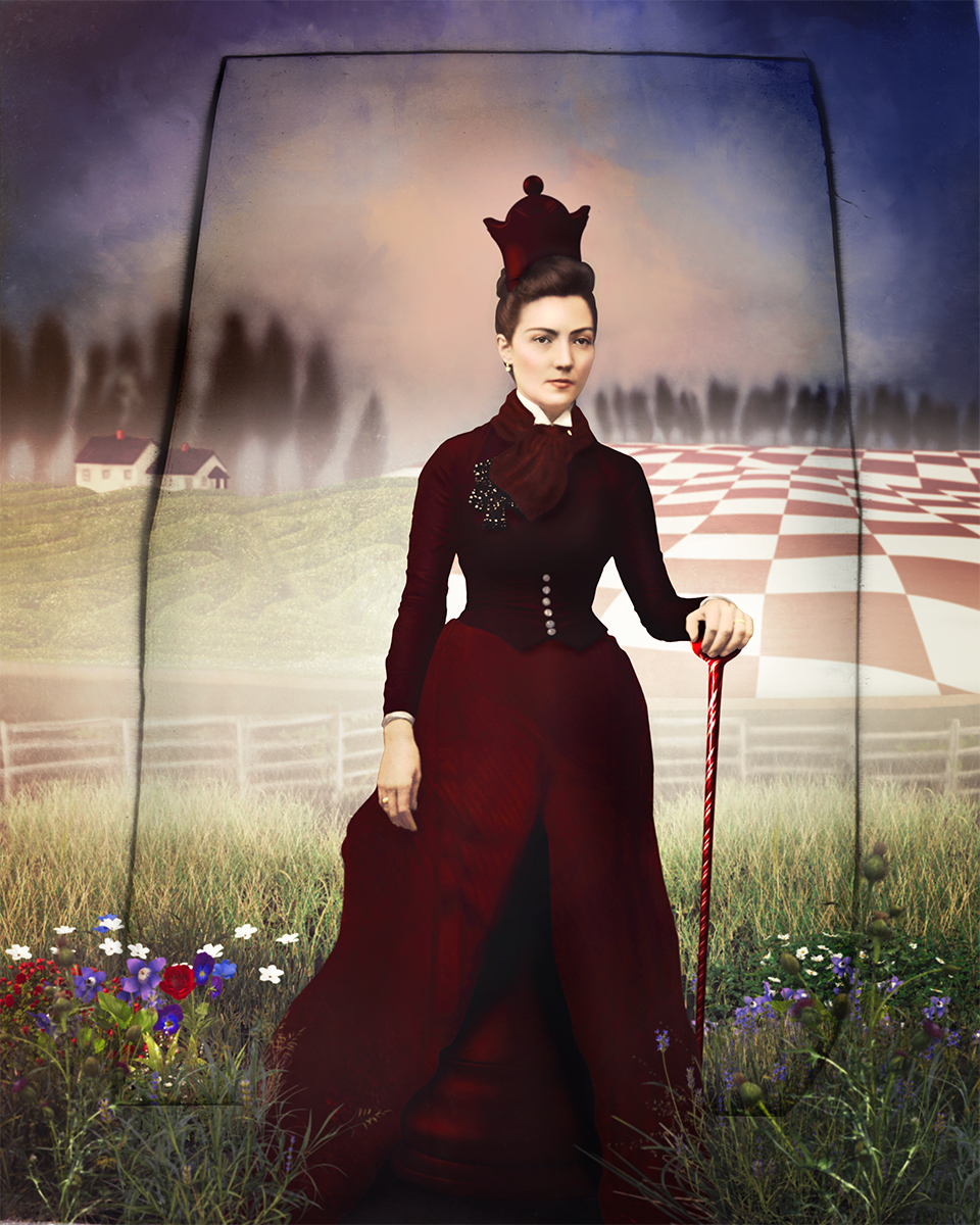 The Red Queen from Through the Looking Glass by Laura Cole_Web.jpg