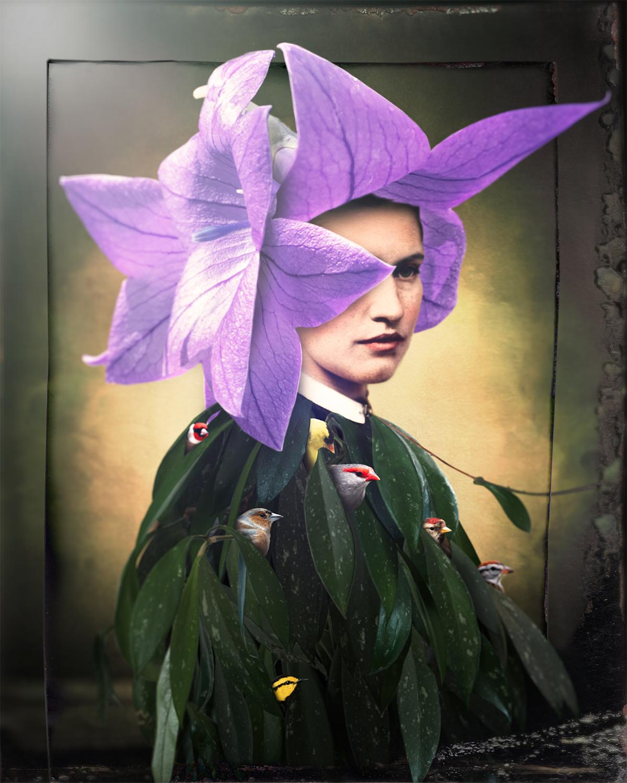 Violet, the Talking Flower