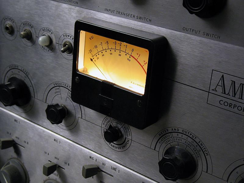 Trakworx Mastering & Recording Studio Ampex 350 Tube Preamp