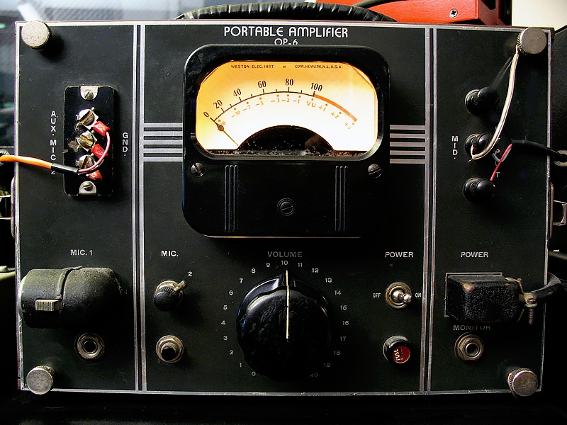 Trakworx Mastering & Recording Studio RCA OP-6 Tube Preamp