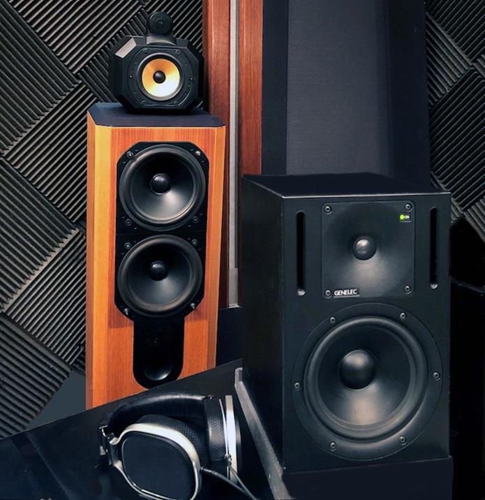 Trakworx Online Mastering Studio Full Range Audio Monitors