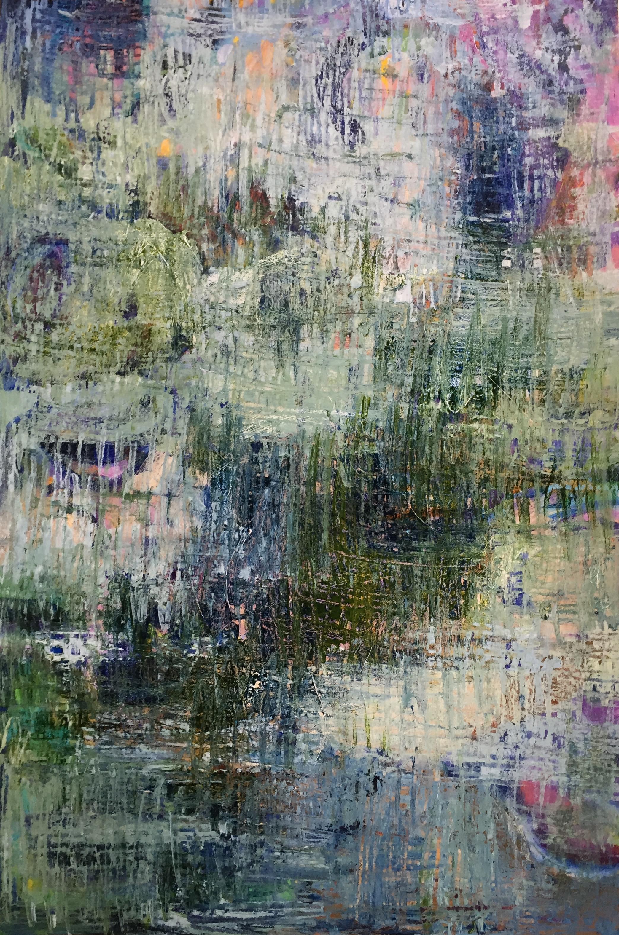 "Serenity (4903) 12"" x 18""  Acrylic on Paper"