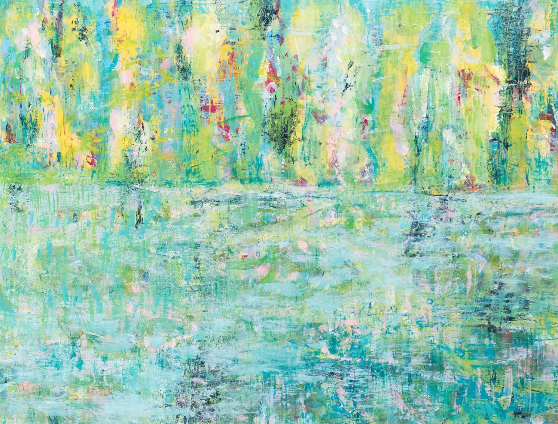 "Morning light 12"" x 16""  Acrylic on Panel"